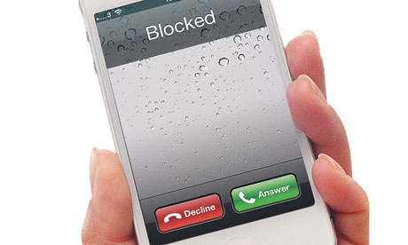 An iPhone … would you ever need a temporary phone number?