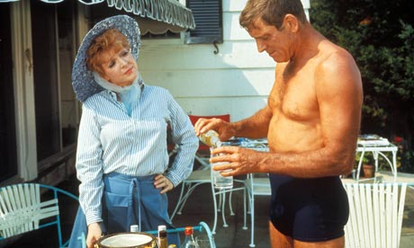 Burt Lancaster in The Swimmer