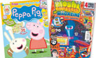 Peppa Pig and Moshi Monsters.