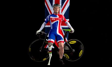 Jody Cundy, British Parlympic cyclist