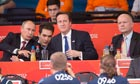 David Cameron & Vladimir Putin watch Judo at ExCel