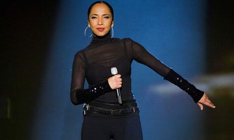 The singer Sade