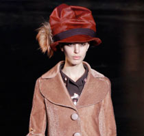 Marc Jacobs's autumn/winter collection.