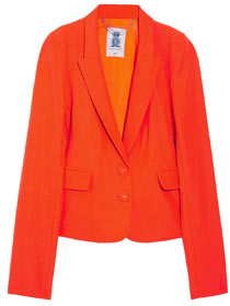 Blazer, £240, by Juicy Couture, from net-a-porter.com