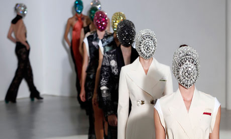 Maison Martin Margiela on the catwalk.