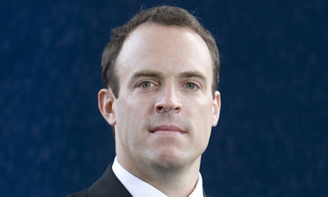 Dominic Raab … 'People who are coasting – it should be easier to let them go.'