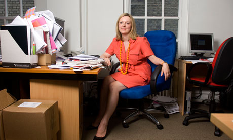 Elizabeth Truss, a member of the Free Enterprise Group.