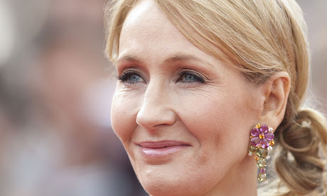 JK Rowling … moving into adult fiction.