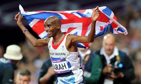 Mo Farah Olympic 10000M final