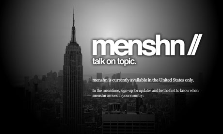 Menshn, the widely derided Twitter rival.