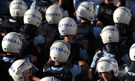 turkish riot police