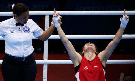 Katie Taylor Olympic Gold Ireland London 2012