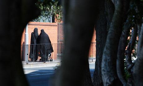 Two women framed by trees in Walthamstow