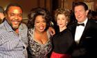OPrah Winfrey and stars of Reagan biopic, September 2012