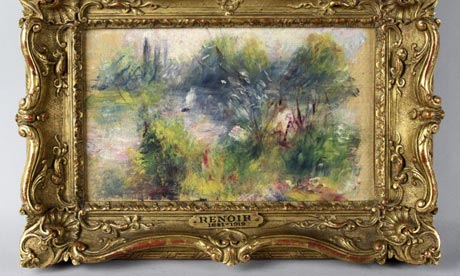 Renoir painting found at flea market