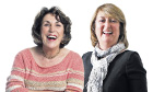 Edwina Currie  and Jacqui Smith