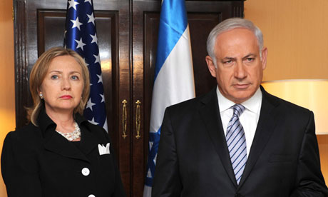 Hillary Clinton Benjamin Netanyahu