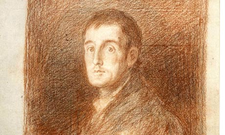 The Duke of Wellington as drawn by Francisco de Goya
