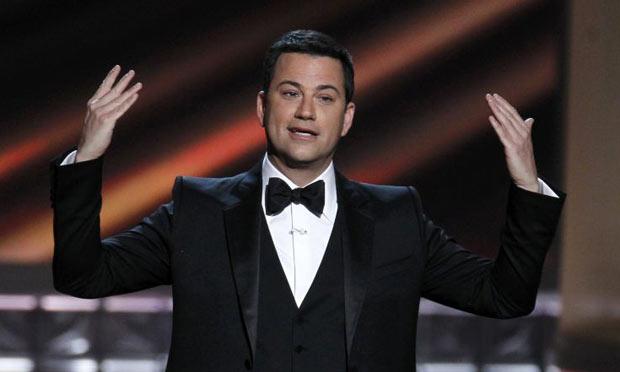 Jimmy Kimmel opens the Emmy Awards