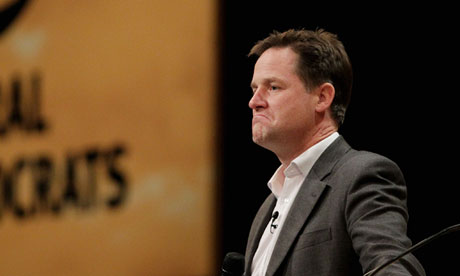 Nick Clegg … is there anything else he can actually do?