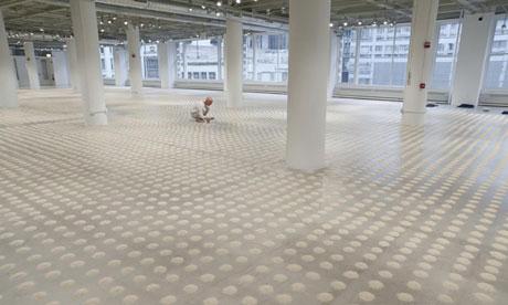 Wolfgang Laib's Unlimited Ocean at Gwangju Biennale