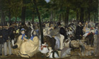 Music in the Tuileries Gardens is one highlight of the Manet: Portraying Life exhibition