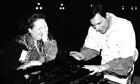 Freddie Mercury and the mezzo-soprano Mon