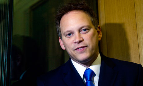 A rare sighting of the mysterious Michael Green, AKA Grant Schapps.