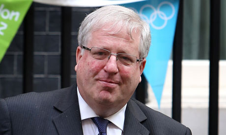 Patrick McLoughlin leaving Downing Street