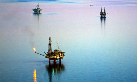 oil and gas Cook Inlet oilfield in Alaska