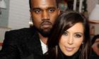 Kanye West and Kim Kardashian, 2012