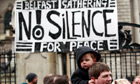 Belfast peace rally