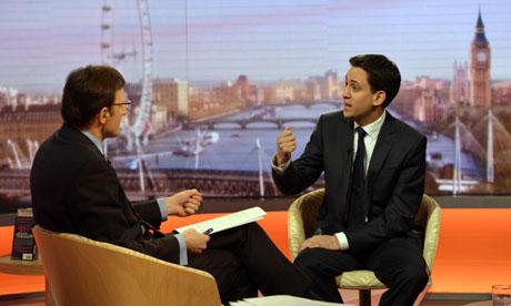 Ed Miliband Andrew Marr Show