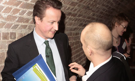 David Cameron with his adviser former Steve Hilton