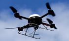 Police aerial surveillance drone