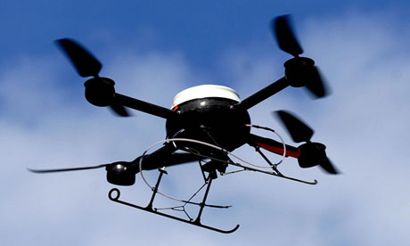 Police aerial surveillance drone