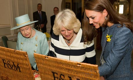 Fortnum and Mason hampers, queen