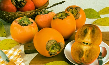 Persimmons … how do you eat yours?