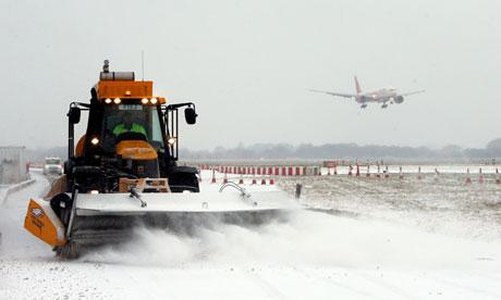 Winter weather Heathrow