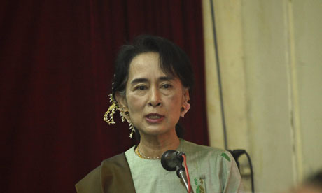21 January 2013 (Aung San Suu Kyi to reveal her Desert ...