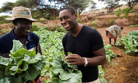 David Harewood in Kenya