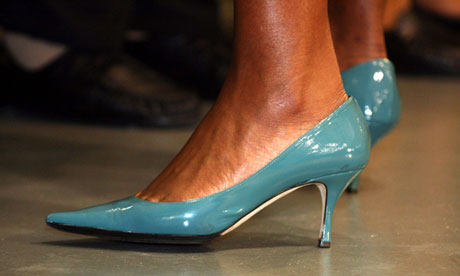 Michelle Obama's low heels are the perfect feminist compromise
