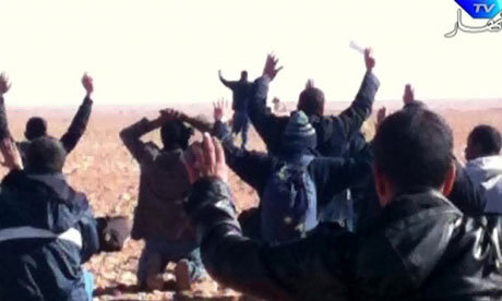 Hostages surrender to Islamist gunmen who overtook the gas plant in the Algerian desert