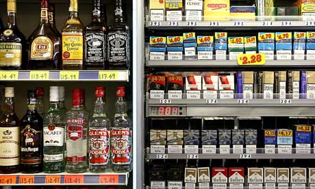Government Plans Ban On Cigarette Shop Displays