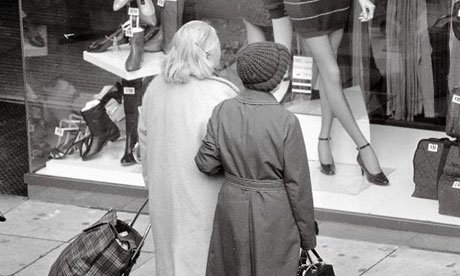 Window Shopping in Stockport, 1980