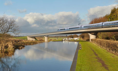 HS2 high-speed train