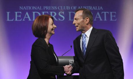 FILE: Australian PM Gillard Announces September 14 Election