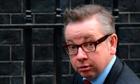 British Education Secretary Michael Gove