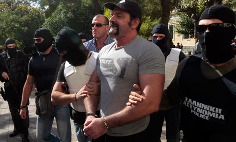 Golden Dawn members arrested on charges of formation of a criminal organisation