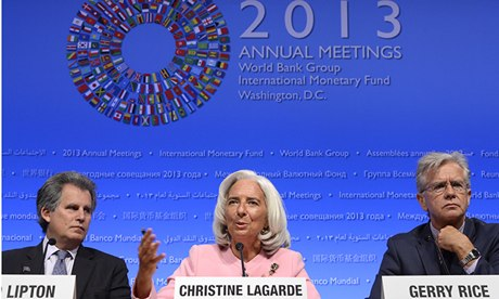 IMF World Bank Annual Meeting Christine Lagarde